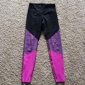 Old navy active high waist colorblock legging med